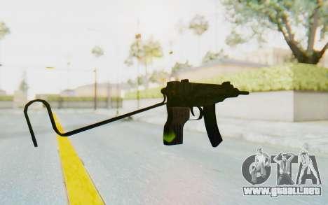 VZ-61 Skorpion Unfold Stock Tiger Stripes Camo para GTA San Andreas segunda pantalla