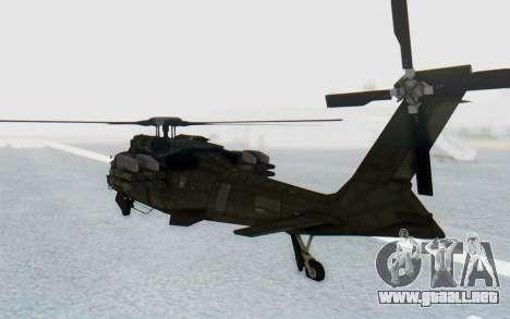 MGSV Phantom Pain UTH-66 Blackfoot para la visión correcta GTA San Andreas