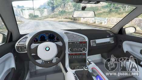 GTA 5 BMW M3 (E36) Street Custom vista lateral derecha
