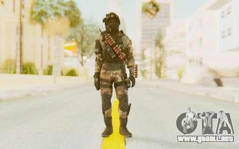 Federation Elite Shotgun Woodland-Flora para GTA San Andreas segunda pantalla