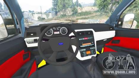 GTA 5 Fiat Doblo vista lateral derecha