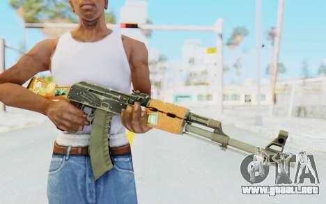CS:GO - AK-47 Jetset para GTA San Andreas tercera pantalla