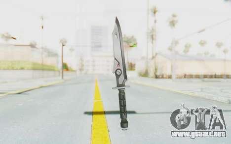 Seulbi Weapon para GTA San Andreas segunda pantalla