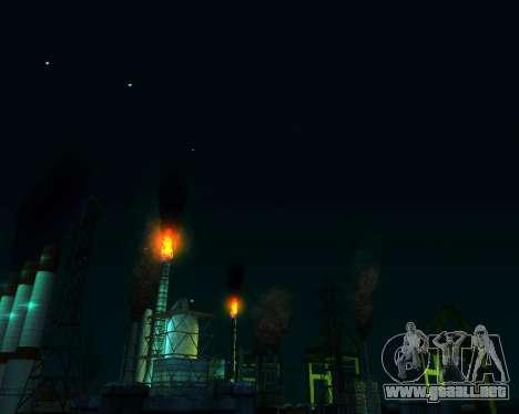 Realista ENB por medio de la PC V. 1 para GTA San Andreas octavo de pantalla