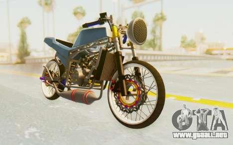 Kawasaki Ninja 150S Thailock para la visión correcta GTA San Andreas