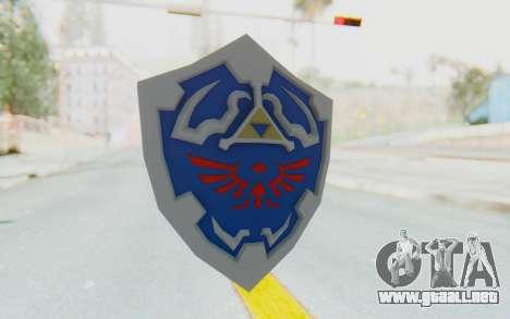 Hylian Shield from Legend of Zelda para GTA San Andreas