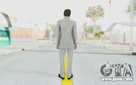 Mafia 2 - Vito Scaletta Madman Suit White para GTA San Andreas tercera pantalla