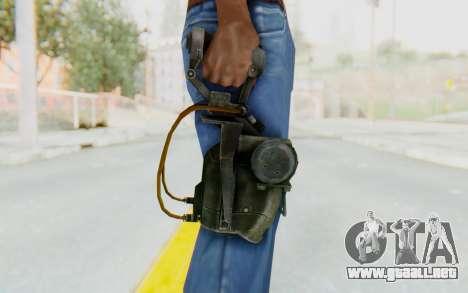 Mesmetron from Fallout 3 para GTA San Andreas tercera pantalla
