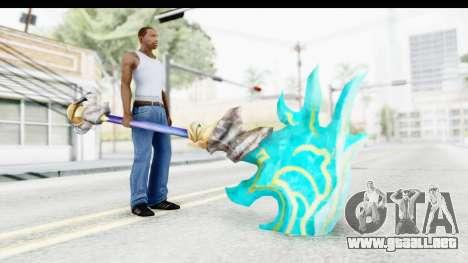 Orochi Weapon para GTA San Andreas tercera pantalla