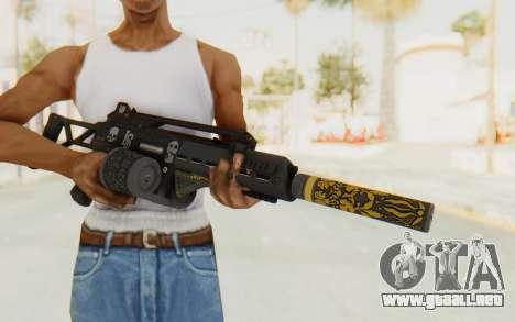 GTA 5 DLC Finance and Felony - Special Carbine para GTA San Andreas tercera pantalla