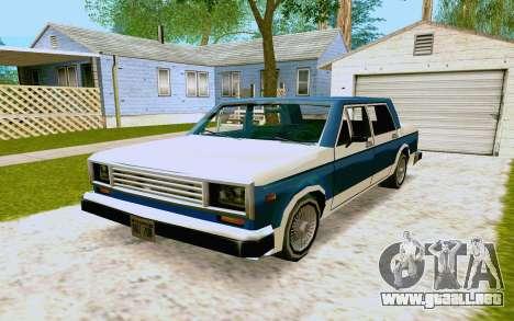 Bobcat Sedan para GTA San Andreas