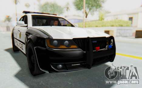 ASYM Desanne XT Pursuit v3 para GTA San Andreas