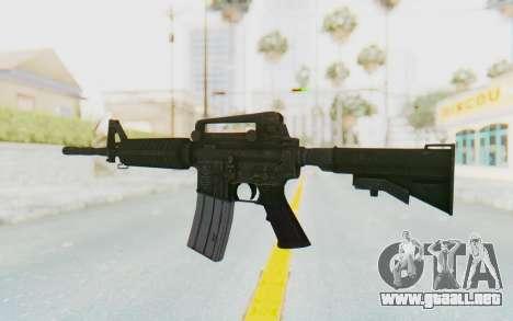 Assault M4A1 para GTA San Andreas segunda pantalla