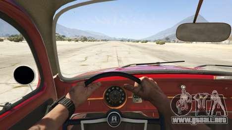 1963 Volkswagen Beetle 1.0.1 para GTA 5