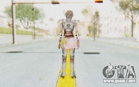 Dynasty Warriors 8: Xtreme Legends - Lu Lingqi 2 para GTA San Andreas tercera pantalla