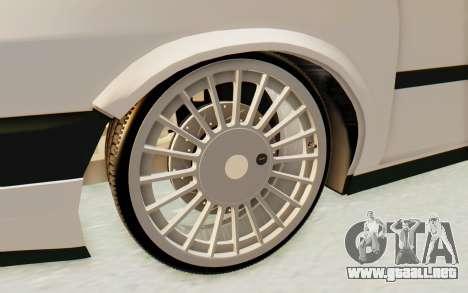 Fiat Tempra Special TR para GTA San Andreas vista hacia atrás
