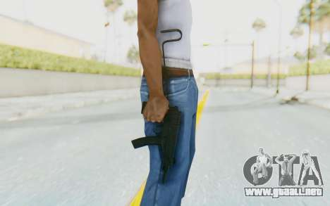 VZ-61 Skorpion Unfold Stock para GTA San Andreas