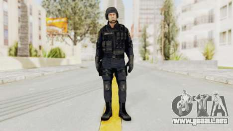 Dead Rising 2 Chucky Swat Outfit para GTA San Andreas segunda pantalla