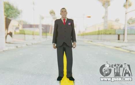 Barack Obama Skin para GTA San Andreas segunda pantalla