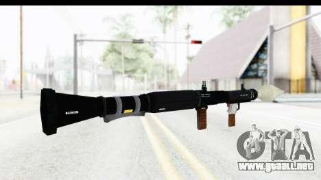 GTA 5 Shrewsbury Rocketlauncher para GTA San Andreas segunda pantalla