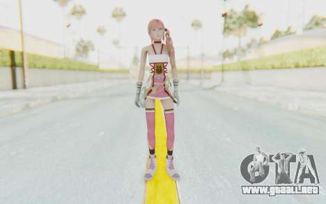 FinalFantasy XIII-2 - Serah para GTA San Andreas segunda pantalla