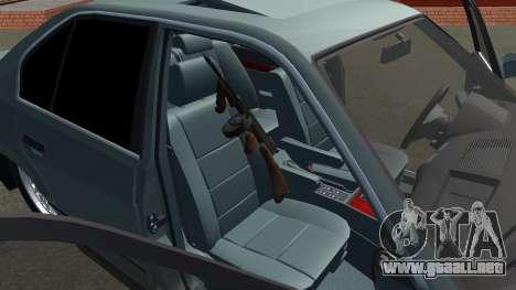 BMW 535i Gang para la visión correcta GTA San Andreas