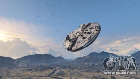 GTA 5 Star Wars Millenium Falcon 5.0