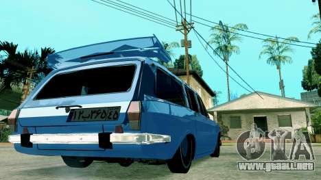 IKCO Paykan StiTion Sport para GTA San Andreas vista posterior izquierda