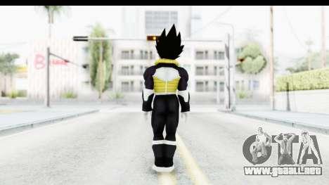 Dragon Ball Xenoverse Vegeta Timebreaker Fix para GTA San Andreas tercera pantalla