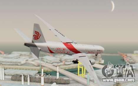 Boeing 777-300ER China Air para GTA San Andreas left