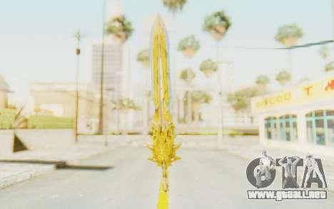 Blade of Olympus para GTA San Andreas segunda pantalla