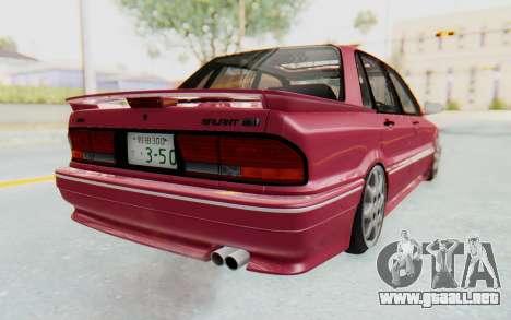 Mitsubishi Galant VR4 1992 para GTA San Andreas left