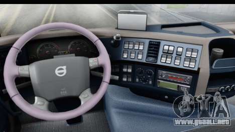Volvo FMX Euro 5 v2.0 para visión interna GTA San Andreas