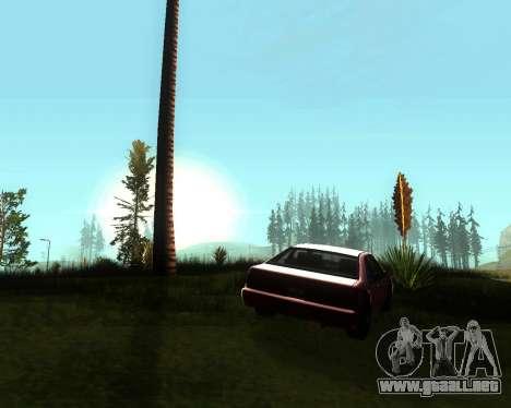 Realista ENB por medio de la PC V. 1 para GTA San Andreas tercera pantalla