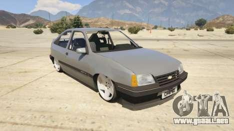 Chevrolet Kadett SL 2.0 Lowered para GTA 5