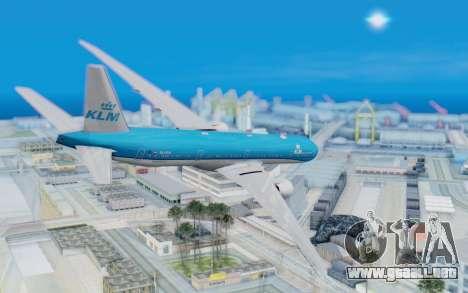 Boeing 777-300ER KLM - Royal Dutch Airlines v5 para GTA San Andreas left