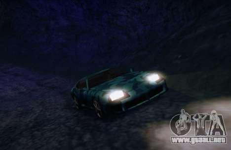 Camo. para la visión correcta GTA San Andreas