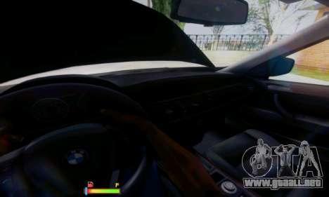 BMW X5 para la vista superior GTA San Andreas