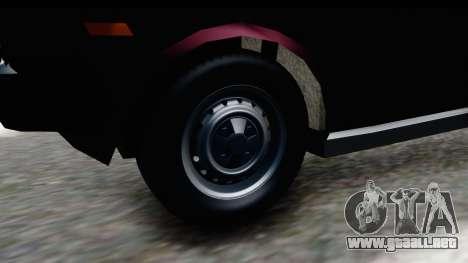 Murat 131 Kartal para GTA San Andreas vista hacia atrás