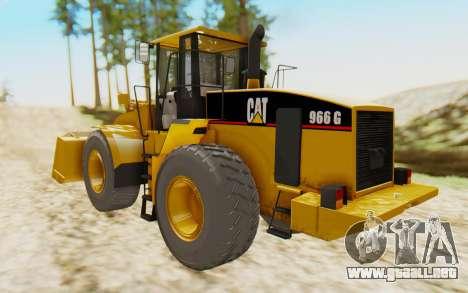 Caterpillar 966 GII para GTA San Andreas left