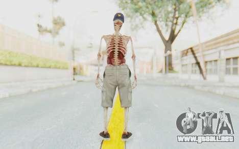 Skeleton Sk8ter para GTA San Andreas tercera pantalla