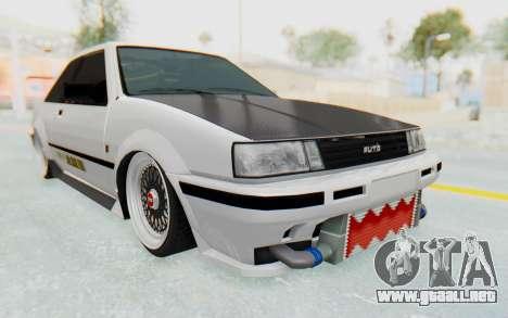 GTA 5 Futo Drift para la visión correcta GTA San Andreas
