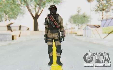 Federation Elite Shotgun Desert para GTA San Andreas segunda pantalla