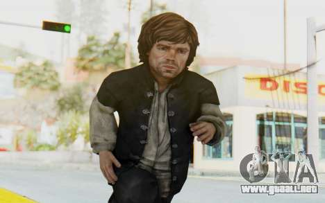 Game Of Thrones - Tyrion Lannister Prison Outfit para GTA San Andreas