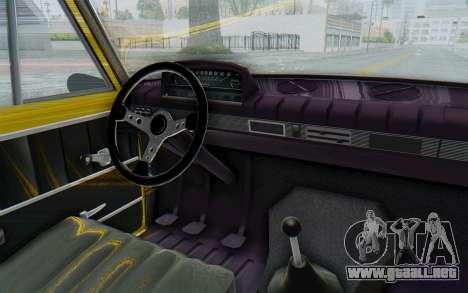 Seat 1430 Torrente para visión interna GTA San Andreas