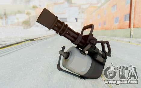 Minigun from TF2 para GTA San Andreas segunda pantalla