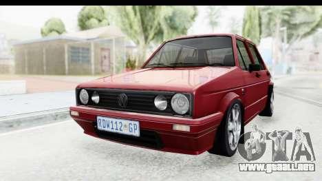 Volkswagen Golf VeloCiti 2008 Updated para la visión correcta GTA San Andreas