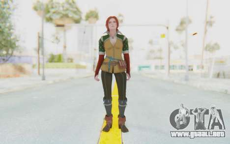 The Witcher 3 - Triss Merigold Default para GTA San Andreas segunda pantalla