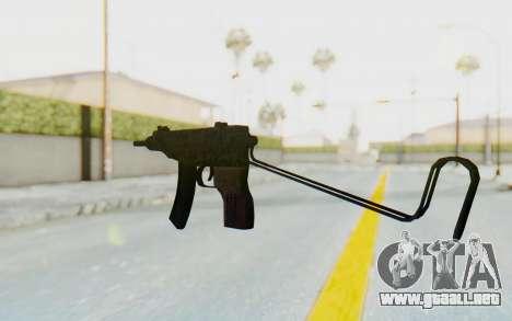VZ-61 Skorpion Unfold Stock Russian Gorka Camo para GTA San Andreas segunda pantalla