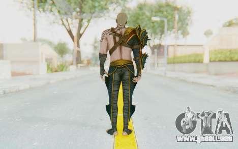 Injustice 2 - Aquaman para GTA San Andreas tercera pantalla